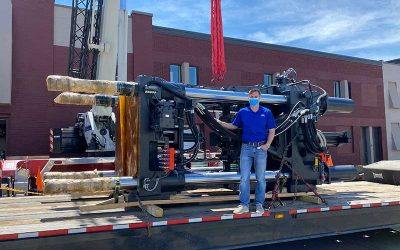 Our 1,000 Ton Press Has Arrived!