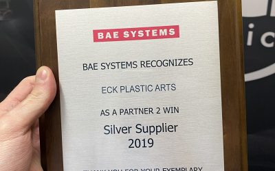BAE Systems Honors Eck Plastic Arts with a Silver Tier Supplier Award