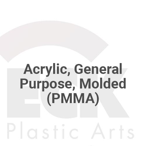 Acrylic, General Purpose, Molded (PMMA)